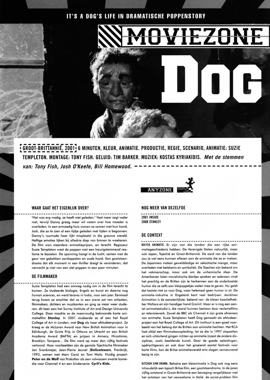 Moviezone review of Dog