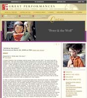 PBS Great Performances 'essay'