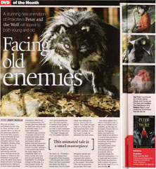 Classic FM magazine article on Peter and the Wolf