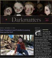 Darkmatters blog review of Peter and the Wolf