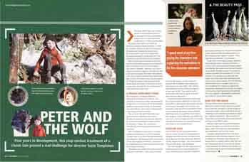 Imagine magazine revew of Peter and the Wolf