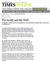 the times article 'the hoody and the wolf'